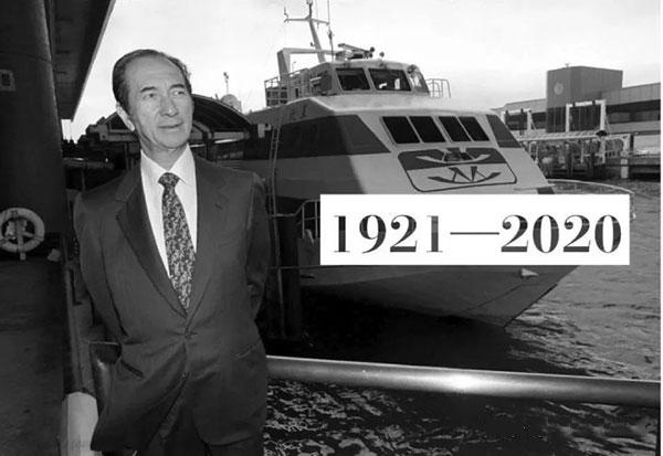 2020年5月26日,一代赌王何鸿燊病逝,享年98岁