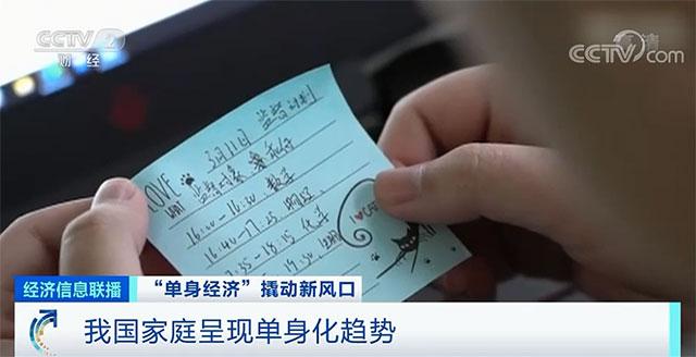 中国家庭呈现单身化趋势
